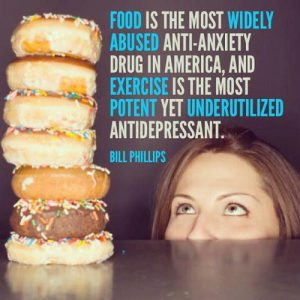 Food anti-anxiety drug